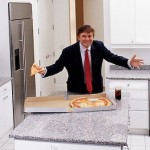 Donald-Trump-in-kitchen-of-top-floor-apartment-Trump-Tower-NYC