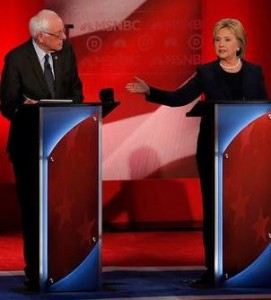 clinton-sanders debate
