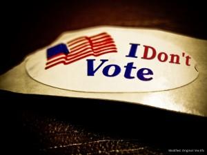 i dont vote