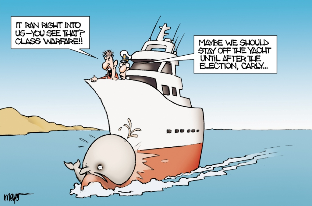 Cartoon Outboard Motors : Meyer careful where you motor that boat carly « calbuzz