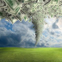 money-tornado