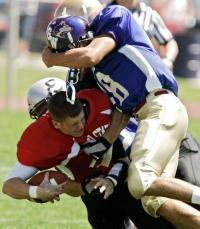 quarterback hit