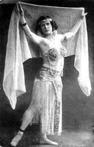 veil dancer 1914